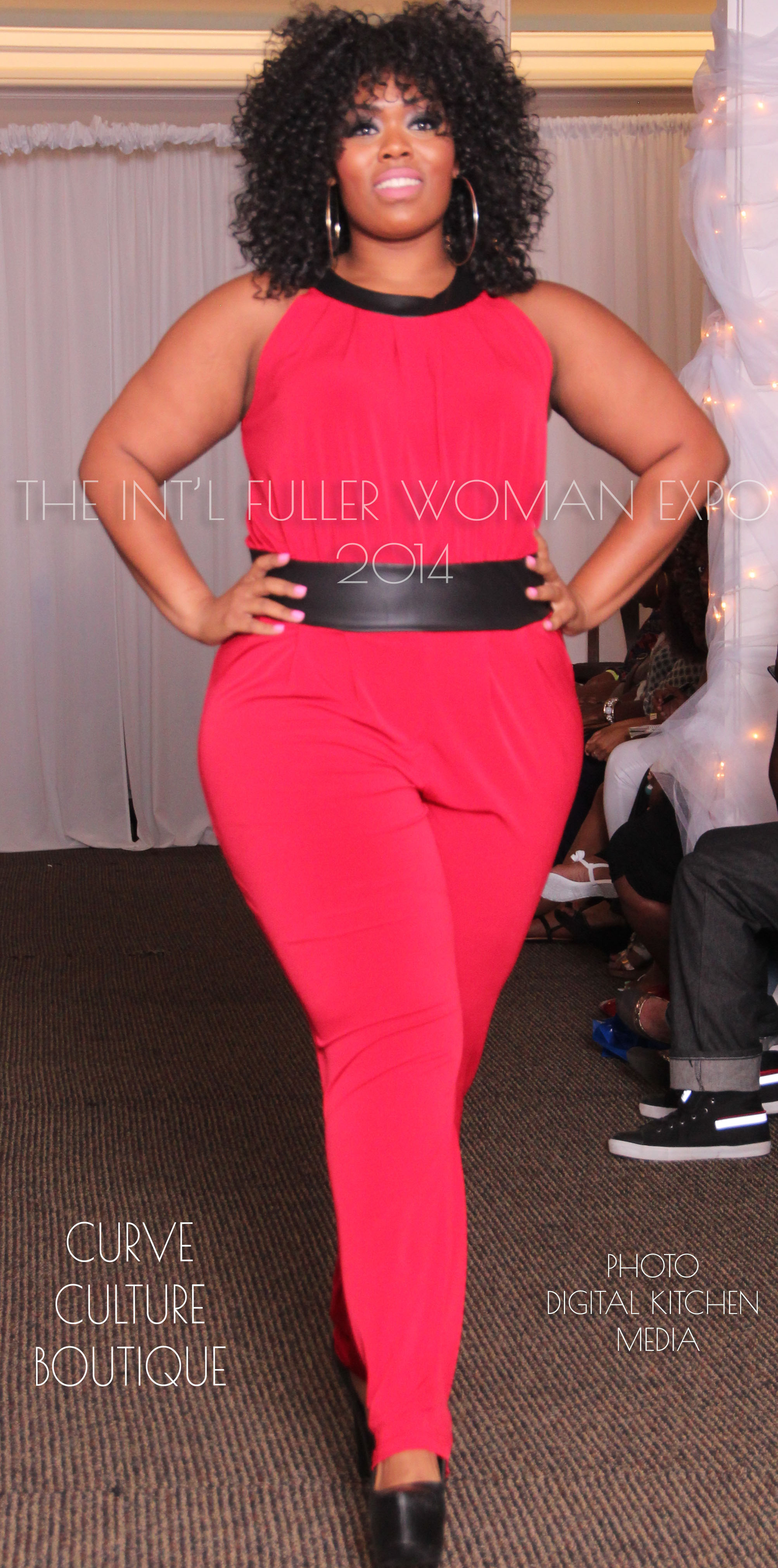 2014 'Curves In Motion' Fashion Showcase in Detroit, MI