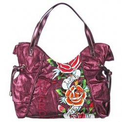 Full Bloom Bag by Ed Hardy