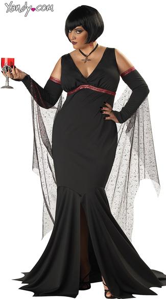 Plus Size Sexy Vampire Costume, $34.95