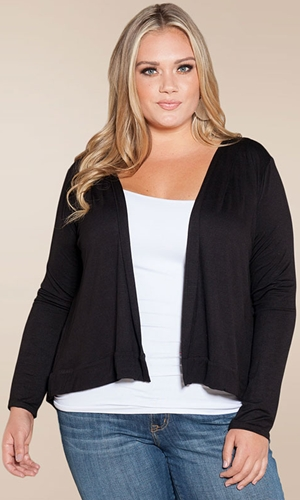 Amy Pleated Cardigan