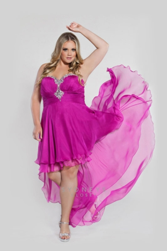 Plus Size Prom Trend 2013