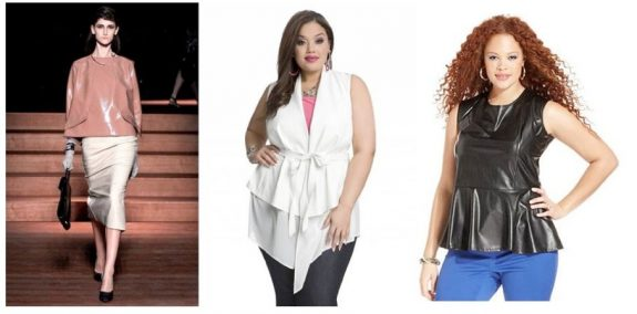 BOLD Plus Size Trend: Spring Leather