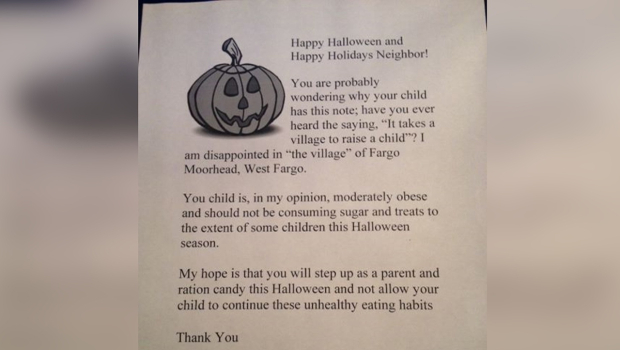 Fat letters instead of candy