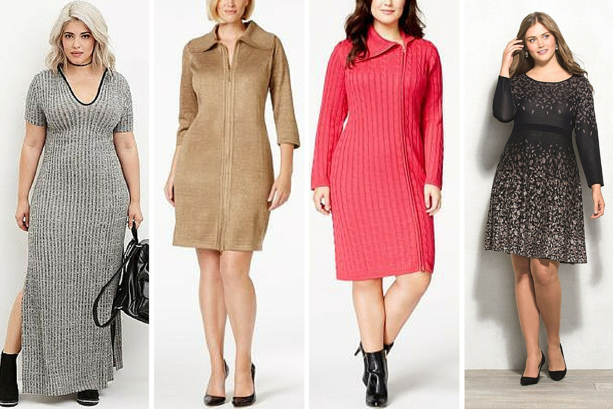 16 Plus Size Sweater Dresses That\'ll Keep The Chill Off This Fall