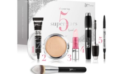 Bring IT home for the holidays! IT Cosmetics IT's Your Top 5 Superstars & More 6pc Holiday Collection. #itcosmetics (PRNewsFoto/IT Cosmetics)