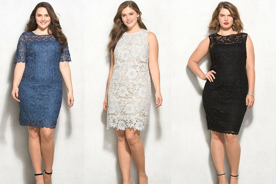 Plus Size Fashion Roundup Show Off Your Feminine Side In Lace Plus