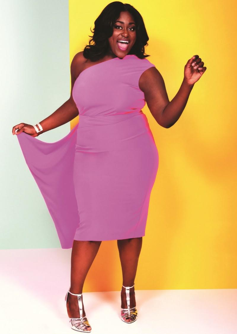 Christian Siriano and Lane Bryant brought us Danielle Brooks and some hot, colorful and playful fashion pieces.