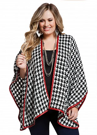 Houndstooth Duster, $39.50
